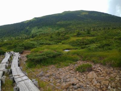 2021 08 吾妻連峰の最高峰へ西吾妻山(1)