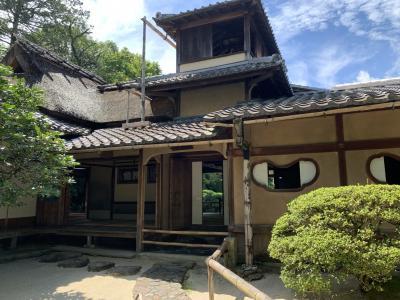 京都さんぽ  宮本武蔵の八大神社と詩仙堂丈山寺あたり