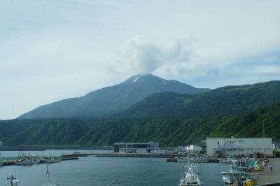 利尻島から稚内へ