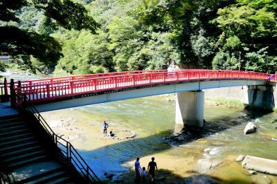 ■ 涼を求めて 青紅葉の香嵐渓への旅