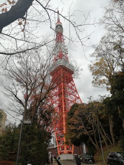 2020年11月 友人と東京でまったり旅行