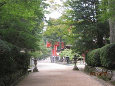 紀の国訪問記(21)壇上伽藍蛇腹道を通って金剛峯寺へ。