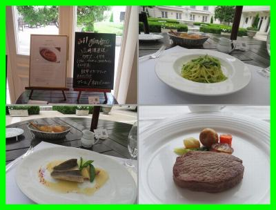 初夏の横浜(7)ルームサービス朝食&イル・ジャルディーノでランチ&ルームサービスディナーはステーキとビーフカレー@ホテルニューグランド