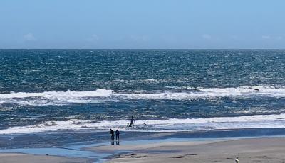 夏の九十九里浜