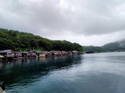 JALどこかにマイル 20回目は大阪へ  2日目 雨の天橋立・伊根の舟屋・舞鶴を散策