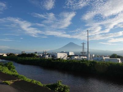 自転車でGO!早朝バージョン&ポタリング =富士市内(15)=2021.08.06