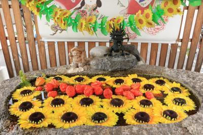 華やかに美しく、フォトジェニックに♪ 全国神社人気ランキング5年連続1位、御朱印部門 別小江神社♪