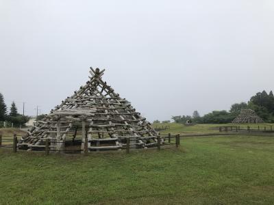 函館の縄文遺跡と鉄印の旅(01道南いさりび鉄道)