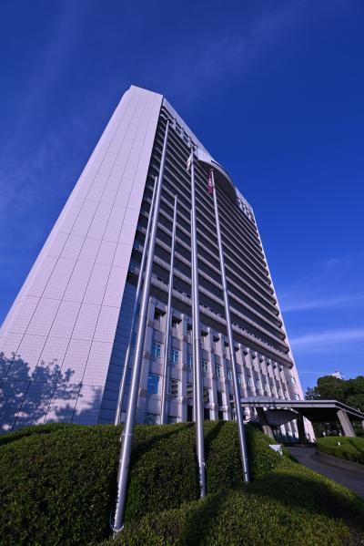 久留米市役所の20階展望室