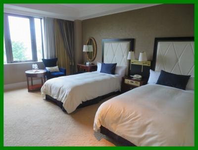 初夏の横浜(8)ホテルニューグランド。クラシックな本館へルームチェンジ&ザ・カフェのブランチとディナー