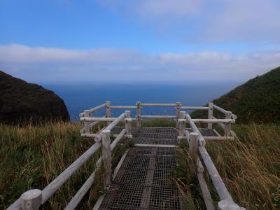 北海道ツーリング 31日目 礼文島「桃岩展望台コース」から「礼文林道コース」を歩きました。
