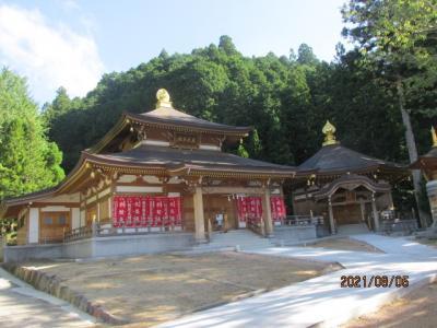 紀の国訪問記(26)別格本山清浄心院を下山する。