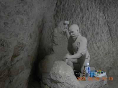 再び越県の旅(1) 禅海和尚がノミと鎚だけで掘ったという「青の洞門」に立ち寄って耶馬渓へ・・・