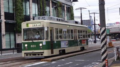 乗り鉄の旅 広島電鉄路面電車編 2日目 完。