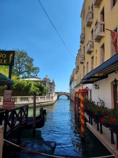 夏休み ベネチアを歩き回る