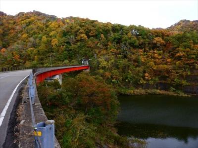 田川新そば祭りと温海川ダムの紅葉
