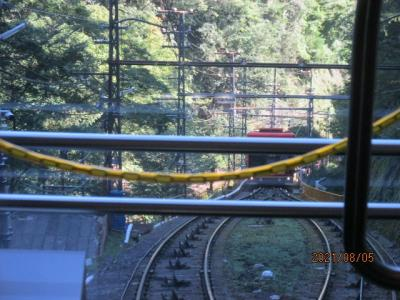 紀の国訪問記(27)ケーブルを乗り継いで高野山鉄道へ。