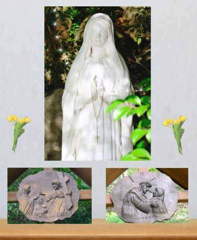 『十字架の道行き&ルルドの聖母』を見に!? 電車でショートトリップ.:*☆*:.