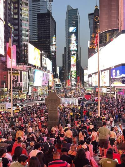 ニューヨークの現状 7月30日2021年の様子。
