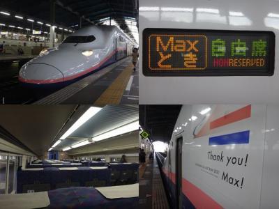 首都圏がダメなら新潟があるじゃない。18きっぷ、560km日帰りでE4系Maxに会いに行く【さよならE4系Max編】