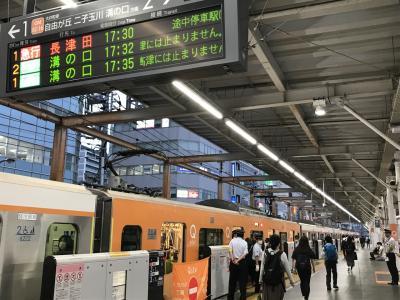 大井町線の有料指定席サービスQシートに乗ってみました。