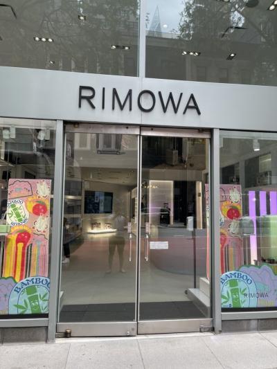 スーツケースが壊されたのでRimowaショップで修理です!(NYC)