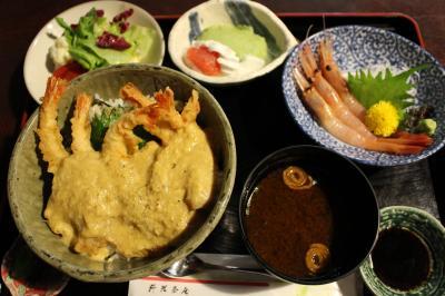 ついに甘エビ*食べてきました(笑)【料理茶屋 魚志楼・東尋坊・三方五湖S.A.】