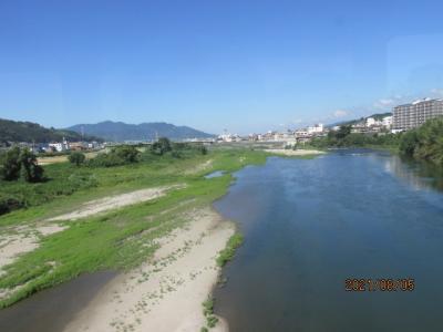 紀の国訪問記(29)紀ノ川沿いの風景。