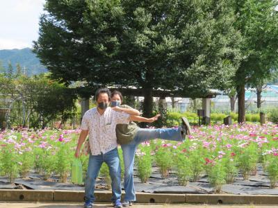 心の安らぎ旅行(2021年9月 勝沼 夫とお初 Part2 ハーブ庭園 旅日記♪)