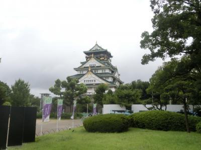 2021夏 関西6:大阪歴史博物館と大阪城公園と天ぷら定食まきの