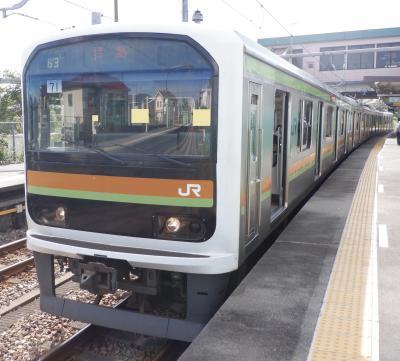 E SEP 2021  プチテツⅪ・・・・・209系3100番台惜別乗車