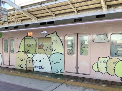 「すみっコぐらし×南海電車」めっちゃ可愛いんですけど~☆彡