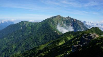 名峰鹿島槍ヶ岳を目指す北アルプスへの旅