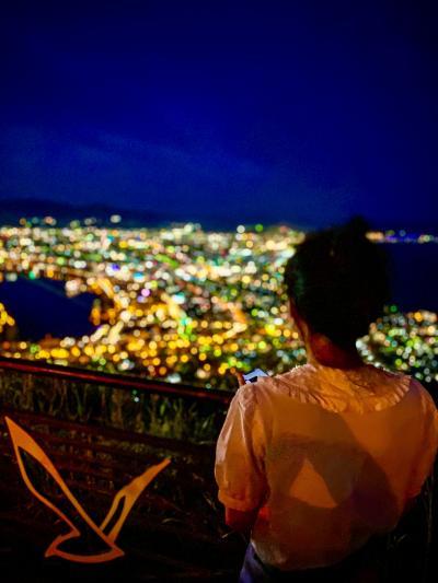 コロナに注意しながらの家族旅行第二弾 その3 20年ぶりに函館山からの夜景を