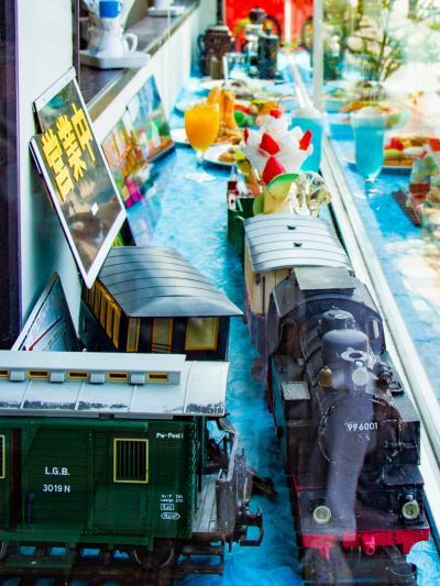 シュッポッポ~♪とSLがお料理を運んでくる鹿島の昭和喫茶でおランチ