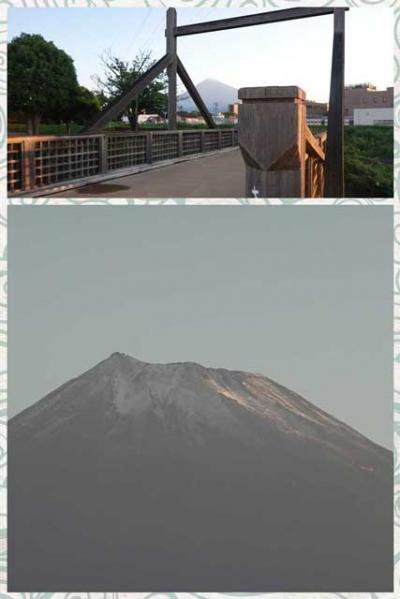 自転車でGO!早朝バージョン&ポタリング =富士市内(19)・富士山初冠雪の日に=2021.09.07