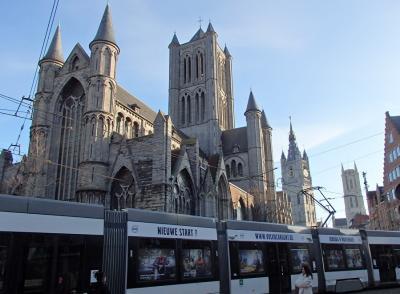 2019年ベルギーのX'sマーケット巡り【49】ゲント:聖ニコラス教会・聖バーフ教会