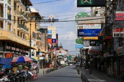 9月12日現在:バンコク観光地の様子を見学してきた