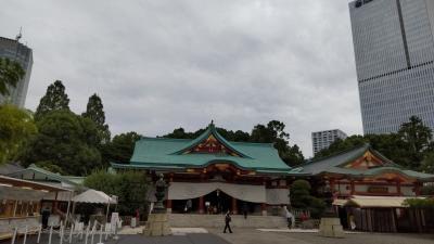 赤坂乃木坂街歩き