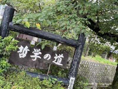 京都東山ゆったり旅行!…銀閣寺 法然院を訪れて…ひとり旅編!