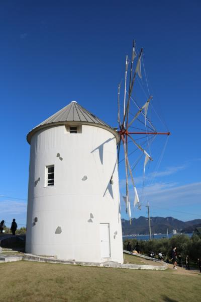 小豆島・ギリシャ風車・エンジェルロード