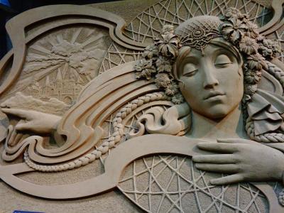 砂でこんなに表現出来るとは! (◎o◎) アメイジングな砂の美術館で ボヘミアへの小旅行を楽しむ