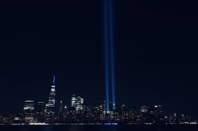 2021年9月11日NYの様子