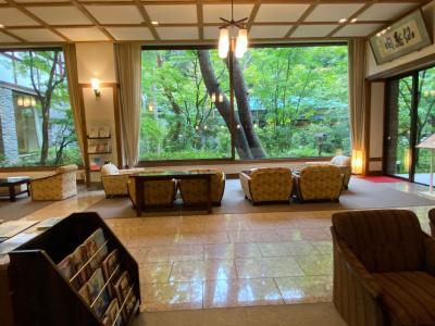 長野県最大級の湧出量、上林ホテル『仙壽閣』へ