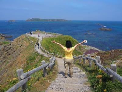 北海道離島の旅 その4 レンタカーで礼文島観光して海も山も満喫!