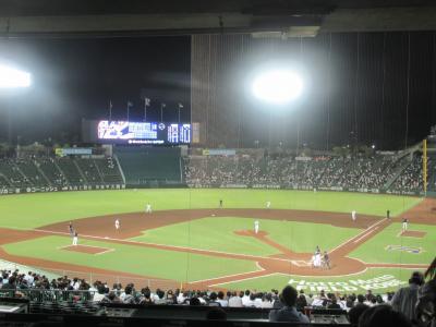 3度目の正直で神戸で野球観戦