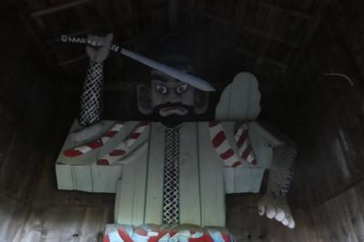 疫病退散17 (花岡の鍾馗様・人形様・仁王様に会いに行く。)