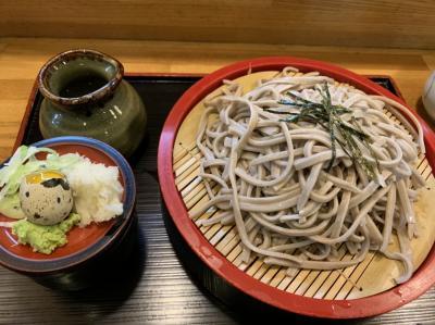 秋田の地そばを食べに行く(中山そば)