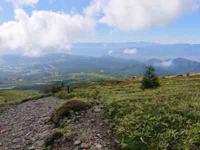 花の百名山 根子岳登山