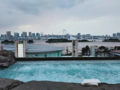 お台場で屋外ジャグジーのホテルに泊まる「ヒルトン東京お台場その2」
